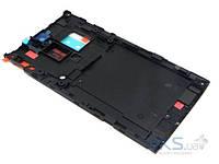 Средняя часть корпуса Sony LT26ii Xperia SL Original Black