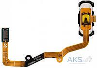 Шлейф для Samsung G935F Galaxy S7 Edge с кнопкой Home Original Black