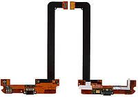 Шлейф Xiaomi Mi2 / Mi2S / Mi2A нижняя плата с коннектором зарядки и микрофоном Original