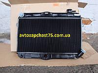 Радиатор Ваз 2121, Нива медный, 2-х рядный (производитель Оренбургский радиатор, Россия)
