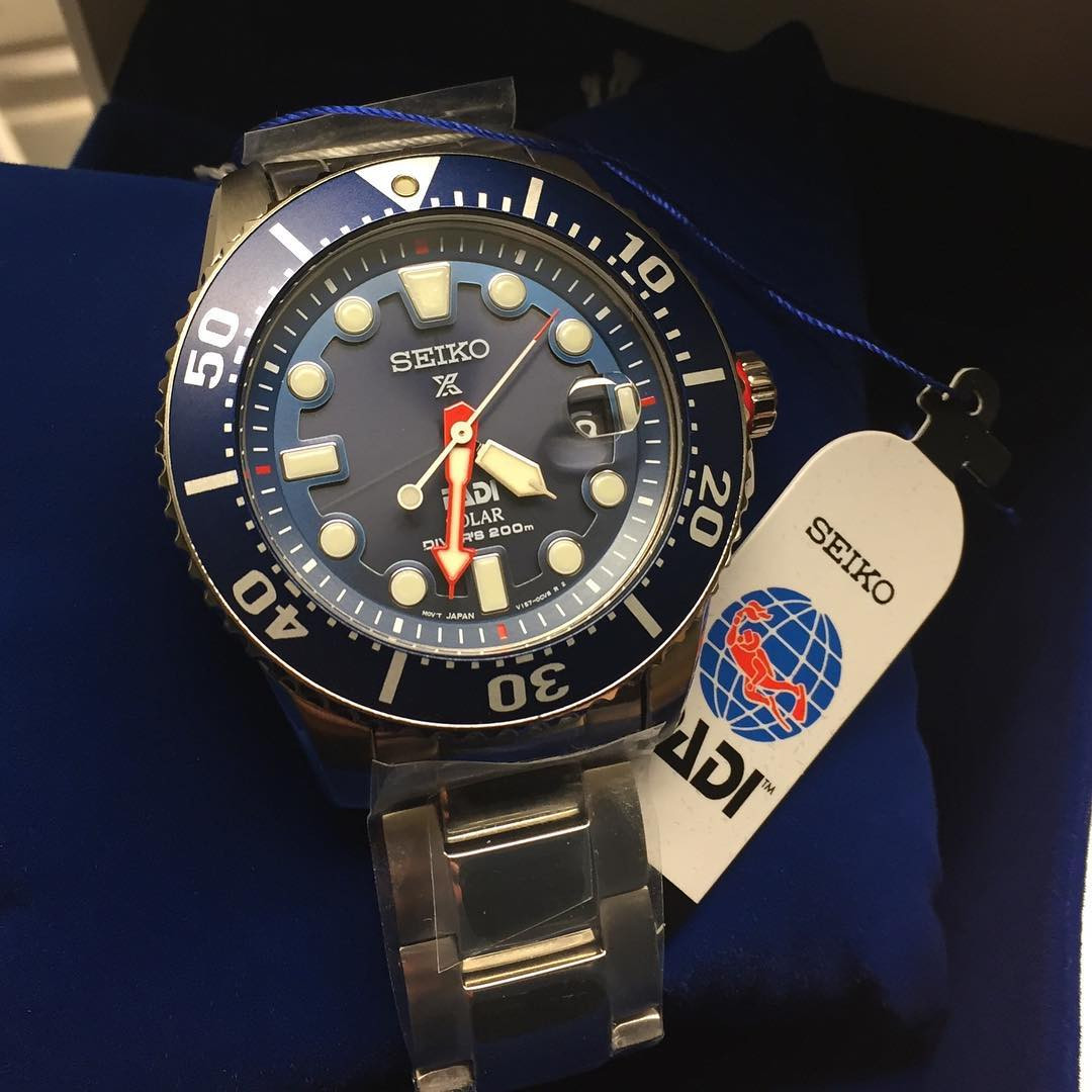 Часы Seiko PADI Diver's SNE435P1 Prospex Solar SPECIAL EDITION!