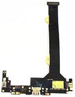 Шлейф для Lenovo K920 с коннектором зарядки, вибратором и микрофоном