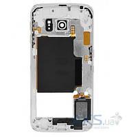 Средняя часть корпуса Samsung G925F Galaxy S6 EDGE White