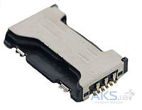 (Коннектор) Разъем SIM-карты и карты памяти Samsung S7560/S7562 Galaxy Star Plus Duos