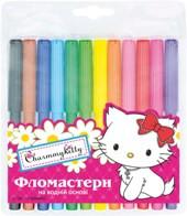 """Фломастеры """"1Вересня"""" 12 цветов """"Чармкитти"""" 650145"""