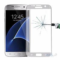 Защитное стекло Tempered Glass 3D Full Cover Samsung G935 Galaxy S7 Edge White