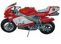 """Детский электромотоцикл """"Хонда"""" до 90 кг, мотор 250 W, до 35 км/ч, световые и звуковые эффекты"""
