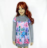 Платье для девочки. Туника (принт)
