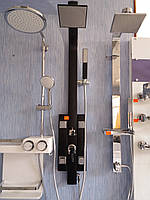 Душевая панель Q-TAP 1102 черная