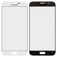 Стекло для Samsung Galaxy A8 A800F Dual White