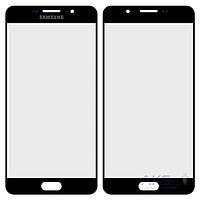 Стекло для Samsung Galaxy A7 (2016) A710F, A710FD, A710M, A710Y, A7100 Black