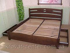 Кровати с Ящиками на колесиках \ на телескопических направляющих (массив - сосна, ольха)