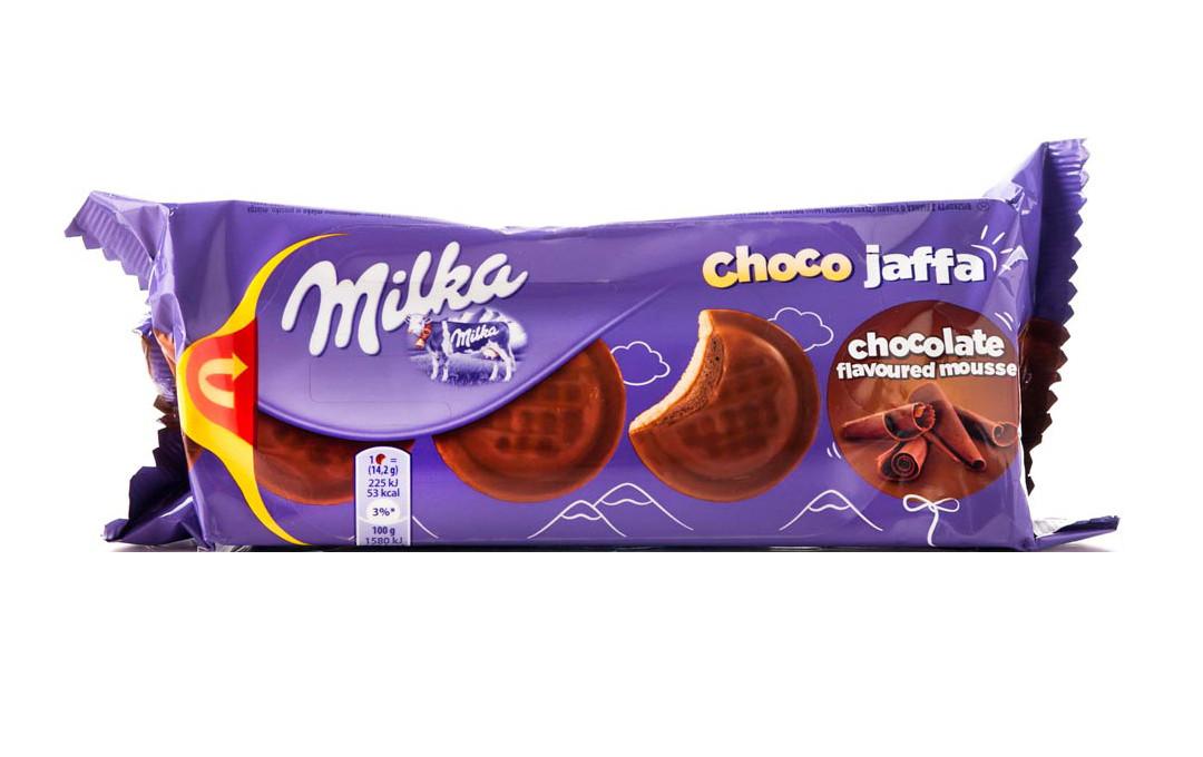Бисквит Milka Choco Jaffa с шоколадным муссом (милка), 150 гр - Продукты из Италии - интернет магазин «Market IT» в Львове