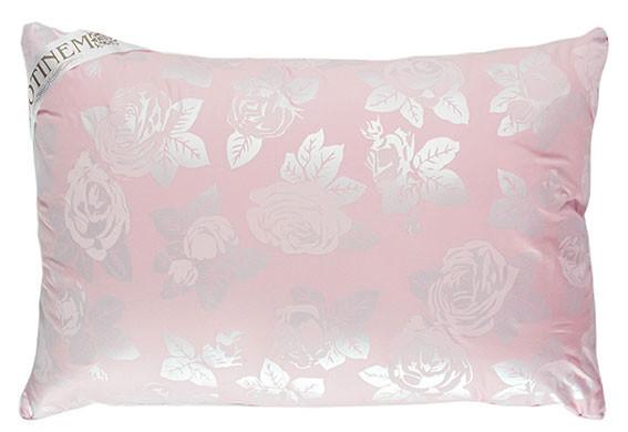 Подушка искусственный лебяжий  пух 50х70  ROSALIE Розовый