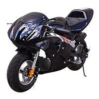 """Детский электромотоцикл """"КосмическийОхотник"""" до 65 кг, мотор 500 W, до 30 км/ч  Детский мотоцикл Profi HB-PSB"""