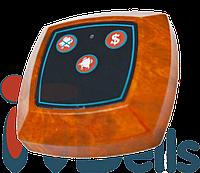 Кнопка вызова персонала квадратная коричневая ITbells-304