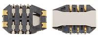 (Коннектор) Разъем SIM-карты Sony Ericsson SK17i Xperia Mini Pro Original