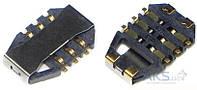 (Коннектор) Aksline Разъем SIM-карты Sony WT19i / ST15i / C901, Original