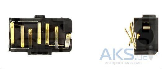 (Коннектор) Aksline Разъем гарнитуры Nokia 6303 / X3-00 / 5220 / 5320 / 7230 / N79 / N86-8MP / N900 Original - goodspares в Киеве