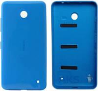 Задняя часть корпуса (крышка аккумулятора) Nokia 630 Lumia Dual Sim Blue