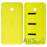 Задняя часть корпуса (крышка аккумулятора) Nokia 630 Lumia Dual Sim Yellow