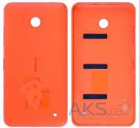 Задняя часть корпуса (крышка аккумулятора) Nokia 630 Lumia Dual Sim Orange