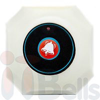 Кнопка вызова официанта октагон белая ITbells-301