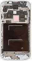 Передняя панель корпуса (рамка дисплея) Samsung I9505 Galaxy S4 Silver
