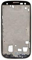 Передняя панель корпуса (рамка дисплея) Samsung I9305 Galaxy S3 Silver