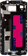 Передняя панель корпуса (рамка дисплея) Samsung N9200 Galaxy Note 5 Silver