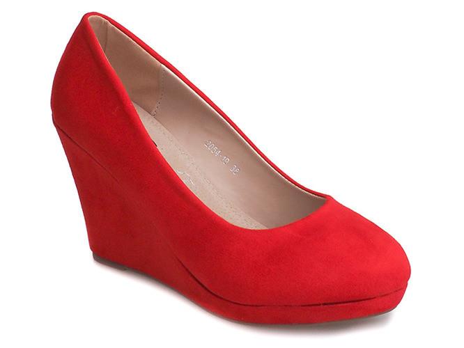 Женские туфли Ethiopia red