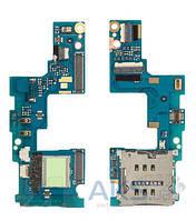 Шлейф для HTC C620e Windows Phone 8X c разъемом SIM-карты Original