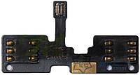 Шлейф для Huawei G710 с разъемом SIM-карты