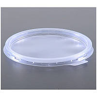 Крышка пластиковая к бумажной супной емкости 500 мл, 50 шт/уп