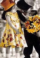 """Акриловий живопис за номерами """"Перше побачення"""" полотно 40*50 см без коробки ТМ Ідейка"""