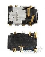 (Коннектор) Разъем гарнитуры Nokia 2630/3110c/3500/5200/5300/5610/5700/6120c/6300/6500s/7500/E52