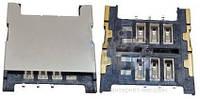 (Коннектор) Разъем SIM-карты HTC Desire C/One V