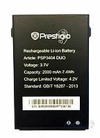 Аккумулятор Prestigio PAP 3404 MultiPhone Duo (2000 mAh) Original