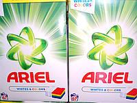 Бесфосфатный порошок  для стирки белого и цветного белья Ariel Whites&Color  67 стирок