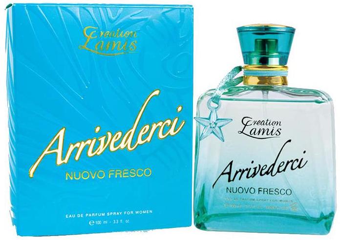 ARRIVIDERCI NUOVO FRESCO Creation Lamis Женская парфюмированная вода 100ml