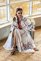 Платье макси СЖ 851-15 Сукня Платье на выпускной Сукня з вишивкою Нарядное платье Бохо стиль