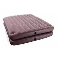 Надувная кровать Intex 67744 2-IN-1 Airbed (152-203-46 см.)
