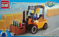 Конструктор Погрузчик 115 дет В коробке 1103+++ Brick Китай