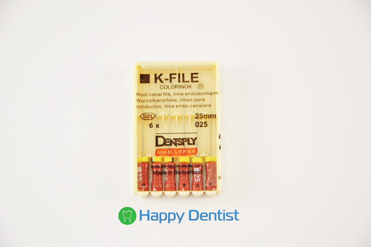 K-FILES Dentsply 25 мм (к-файлы)