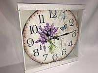 Часы в стиле прованс деревянные skp 78