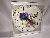 Часы в стиле прованс деревянные skp 77
