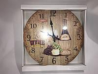 Часы в стиле прованс деревянные skp 76
