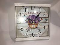 Часы в стиле прованс настенные skp 73