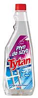 Средство для мытья стекол Tytan(антипар), 750мл запас, 750, опт