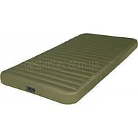 Надувная односпальная кровать Intex 68727 (99-191-20 см.) + Встроенный насос 12W/USB